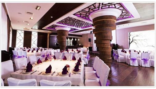 Свадьба на природе в ресторане
