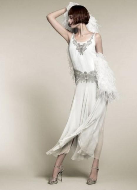 свадебное платье 20-30 годов
