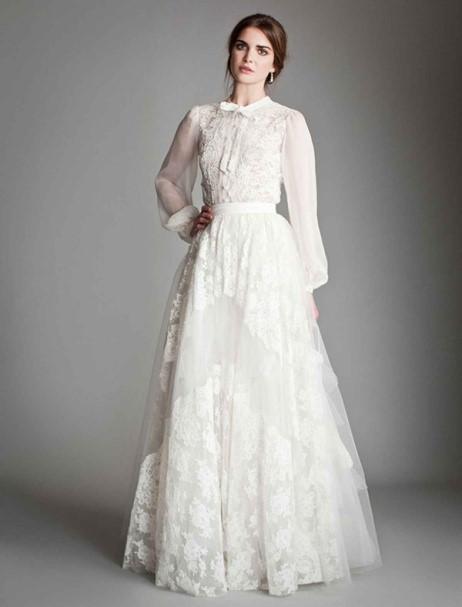 Свадебное платье 40-х годов