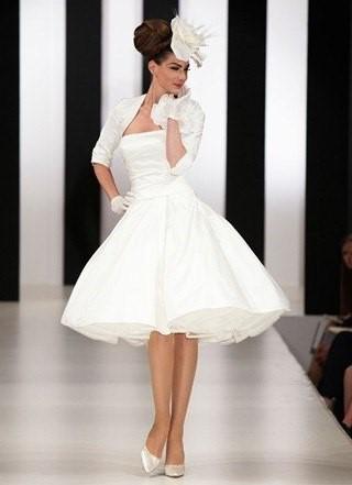 Свадебное платье 50-х годов