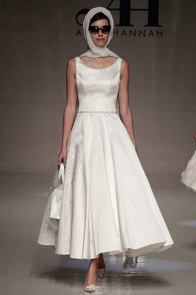 Свадебное платье 60-х годов