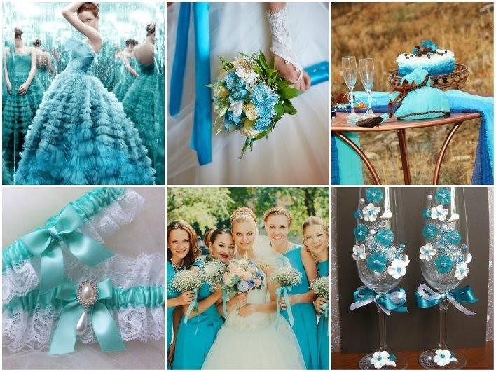 организация свадьбы в цвете