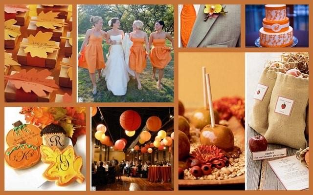 время года организации свадьбы