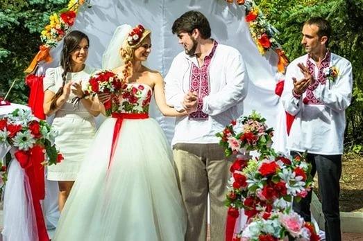организация свадьбы в украинском стиле
